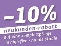 -10% Neukunden-Rabatt